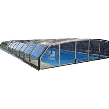 Dome Pour Spa Enclosure Electric Retractable Pool Cover