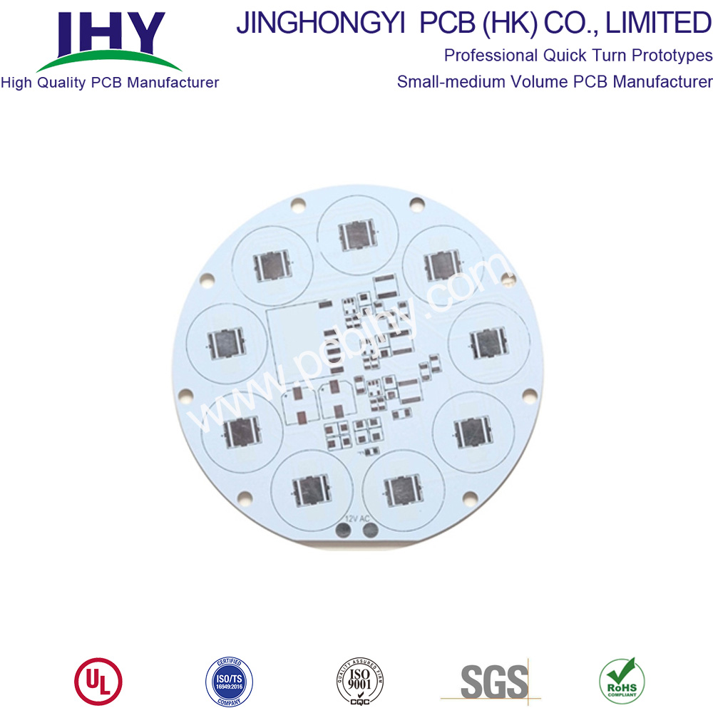 3.0W White 1 Layer 1oz LED PCB