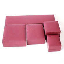 High quality pu materials jewelry box with logo