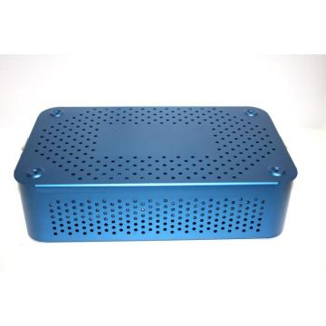 Aluminum sterilization tray box case of Surgical Instruments