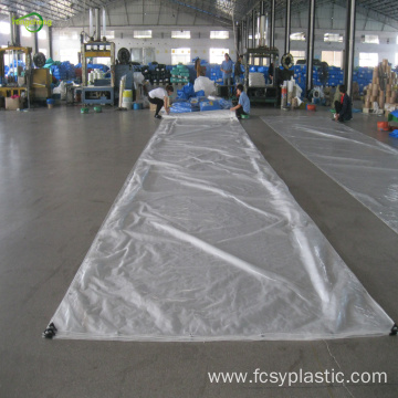 Transparent tarpaulin cherry tree plastic protection cover