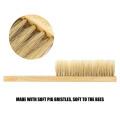 1pc Durable Soft Bristle Brush Beekeeping Tools Wood Brush New Beekeeping Equipment Easy Reusable Honeycomb-cleaning Tool