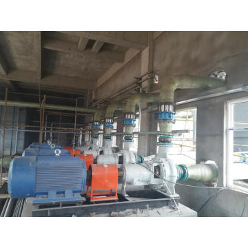 FGD absorber recirculation pump