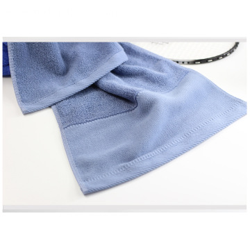 Cotton Solid Color Athletic Towels Quick Dry Towels