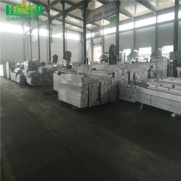 Aluminium alloy formwork for building concrete Formwork