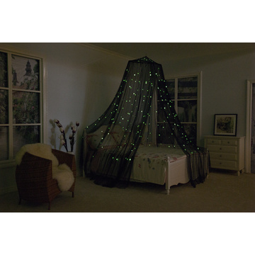 Luminous Stars Conical Bed Canopy Mosquito Net