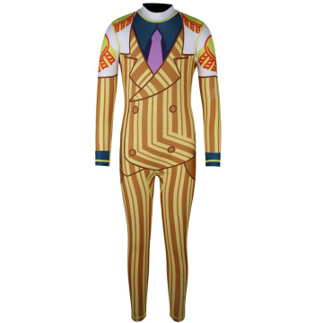 Seaskin Patterned Full Body One Piece Rashguard