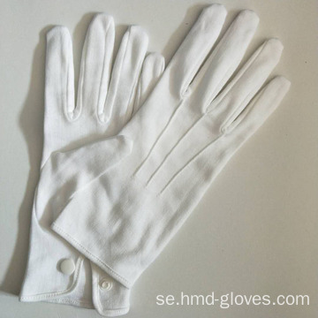 Vitfärg Walmart Usher Worker Gloves
