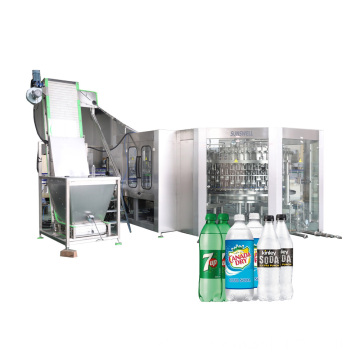 PET-Bottled Carbonated Filling Machine