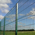 welded curved wire mesh fence