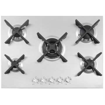 5 Gas on Steel Cooktops