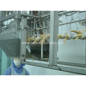 Automatic Poultry Feet Unloader