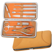 9 PCS High Quality Luxury Small Pocket Manicure Pedicure Set