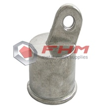 Rail End of Chain Link Fence Fittings Accessories