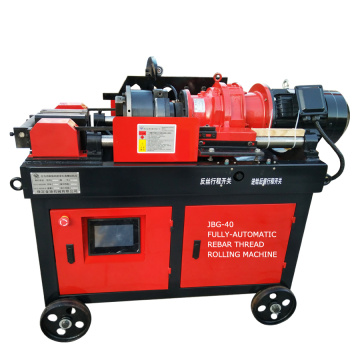 JBG-40 Auto electric rebar threading machine