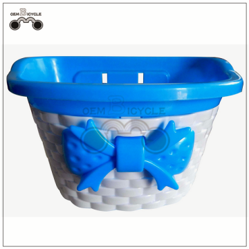 colorful plastic kids bike basket for sale
