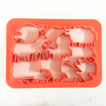 One press plastic Farm Animal Biscuit Cookie Cutter