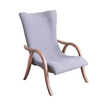 Garden Sofa Outdoor Furniture garden furniture solid wood fabric chair hotel recliner leisure lazy sofa chair armchair lounge