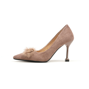 Classical Suede High Heel Pumps Shoes