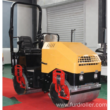 Factory Afford Electric Start Road Roller Compactor (FYL-900)