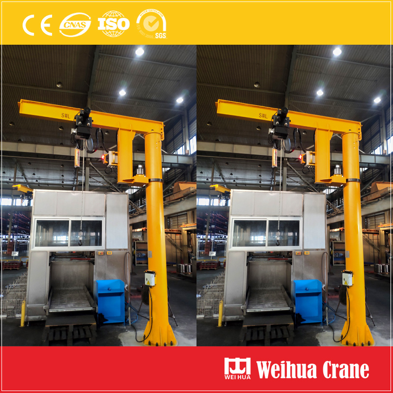floor-slewing-jib-crane