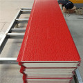 Decorative foam insulated metal wall panels