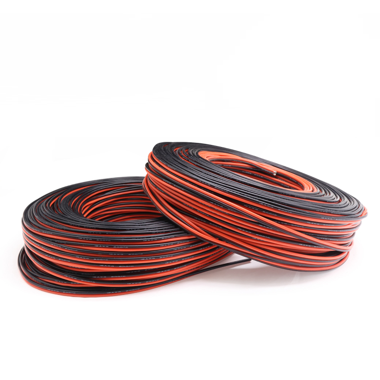 1M 14AWG 2Pins Ultra Soft Silicone Rubber Copper Electric Wire Black Red LED Lighting Lamp DIY Connector Cable Extension Line