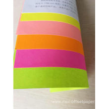 fluorescence business paste special paper