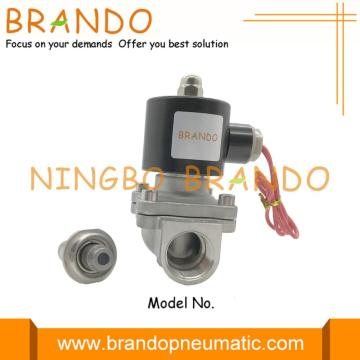 2S200-20 Electric Solenoid Valve for water gas