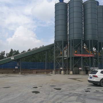 HZS120 portable small capacityconcrete batching plant