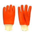Double dipped PVC Gloves