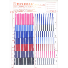 Color wide stripe cotton cloth