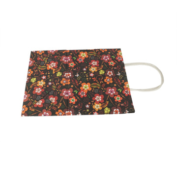 HotSale Gift Bag Eco-friendly Flower Thick Paper Bag