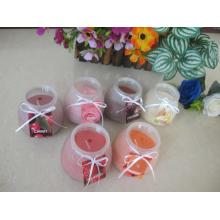 Smokeless HIgh Quality Paraffin Wax Glass Candle