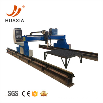 Big thick carbon steel plasma air cutting machine