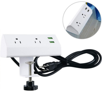 Electrical Plugs Sockets Clamp On Conference Table Socket