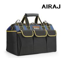 AIRAJ Upgrade Tool Bag 13/15/17/19/21/23 in Electrician Bag 1680D Oxford Waterproof Wear-resistant Strong Tool Storage Toolkit