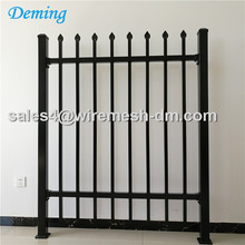 Wrought iron fence Aluminum Material Grille Metal Fence