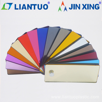 Flexible Color Plastic Mirror PS Sheet