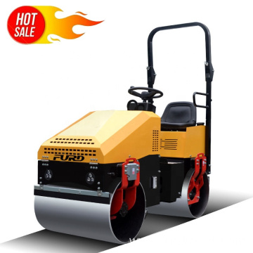 FURD Construction Road Roller Double Drum Vibratory Road Roller Compactor Machine FYL-890