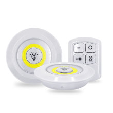 5W COB Wardrobe light Adjustable LED Remote Control Night Light Emergency Light Suitable for Kitchen Stairs Corridor Cabinet