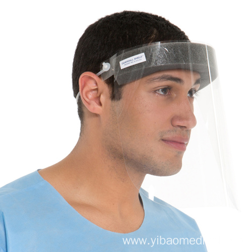 Safety Clear Hat Anti-Splash Face Shield