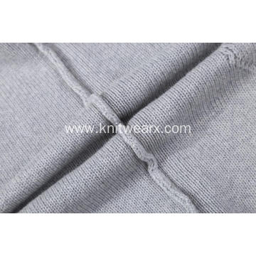 Men's Knitted Cable Front Shawl Collar Pullover