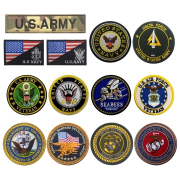 Embroidery Military Patch Army Tactical Morale Patches