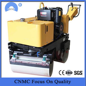 Mini Double Drum Walking Behind Vibratory Road Roller
