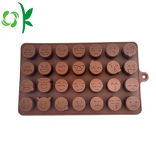 Emoji Chocolate Silicone Baking Mold Small Round Molds