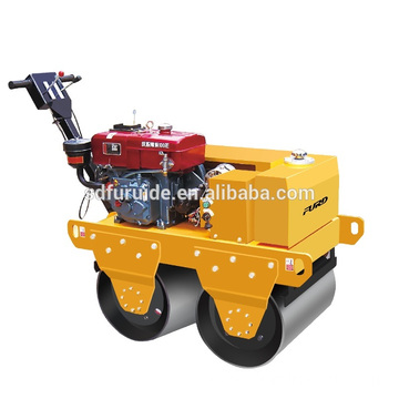 Double drum road roller with different engine options