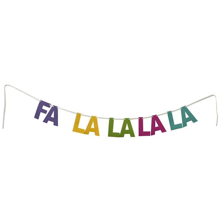 Llama Theme Birthday Bunting Flag
