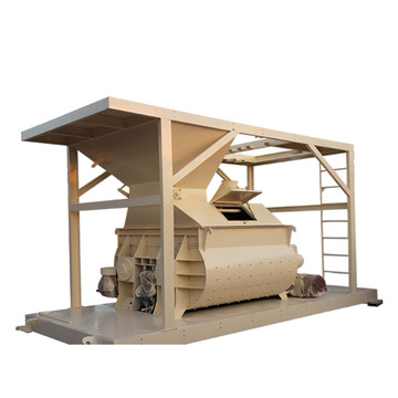 Compulsory high speed JS concrete mixer