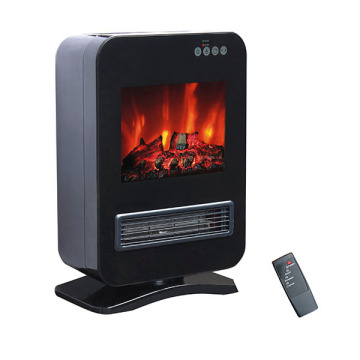 portable fireplace heaters at walmart